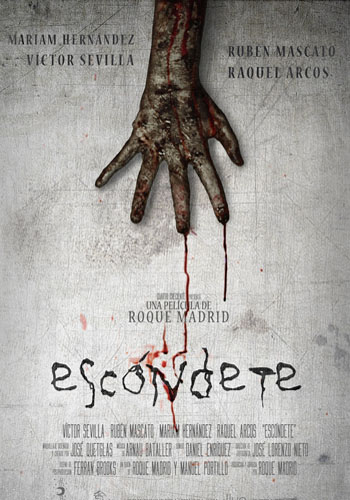 ESCONDETE POSTER