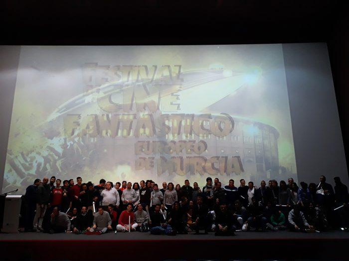 Emoji hace sonreír a cuarenta jóvenes de Astrade en la sesión de ocio inclusivo del Festival de Cine Fantástico de Murcia